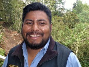 Ricardo Cal Gua, veldwerker techniek en agricultuur