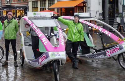 fietstaxi zwolle fietsjoe